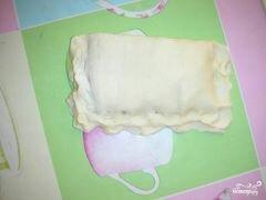 «Слоеные пирожки с сыром» - приготовления блюда - шаг 3