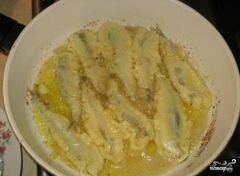 «Мойва в кляре» - приготовления блюда - шаг 3