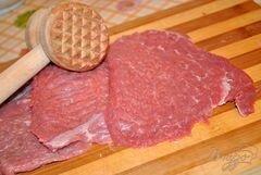 «Запеченная говядина под грибным соусом» - приготовления блюда - шаг 1