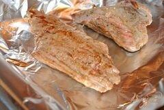 «Запеченная говядина под грибным соусом» - приготовления блюда - шаг 3