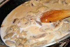 «Запеченная говядина под грибным соусом» - приготовления блюда - шаг 6
