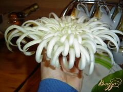 «Хризантема из пекинской капусты» - приготовления блюда - шаг 5
