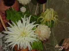 «Хризантема из пекинской капусты» - приготовления блюда - шаг 6