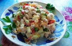 «Салат «Di pollo» - приготовления блюда - шаг 6
