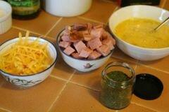 «Пирожки с яйцами и ветчиной» - приготовления блюда - шаг 1