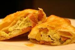 «Пирожки с яйцами и ветчиной» - приготовления блюда - шаг 11