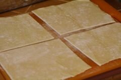 «Пирожки с яйцами и ветчиной» - приготовления блюда - шаг 5