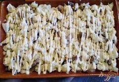 «Цветная капуста с грибами, молоком и сыром.» - приготовления блюда - шаг 3