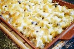 «Цветная капуста с грибами, молоком и сыром.» - приготовления блюда - шаг 5