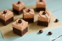«Брауни с кремом мокка» - приготовления блюда - шаг 23