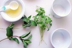 «Клубнично-огуречное табули» - приготовления блюда - шаг 3