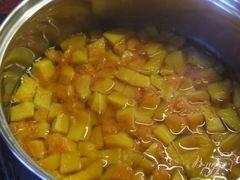 «Тыквенный салат к мясу (маринованная тыква)» - приготовления блюда - шаг 3