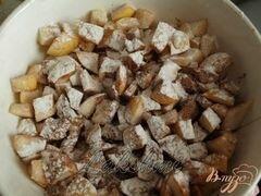 «Грушёвый кекс с шоколадом» - приготовления блюда - шаг 2