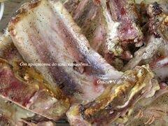 «Свиные ребрышки в томатном соусе с майораном» - приготовления блюда - шаг 1