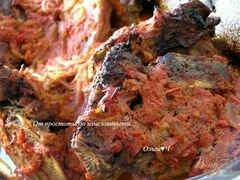 «Свиные ребрышки в томатном соусе с майораном» - приготовления блюда - шаг 5