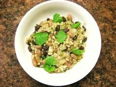 «Фасоль с рисом» - приготовления блюда - шаг 10