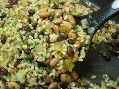 «Фасоль с рисом» - приготовления блюда - шаг 8