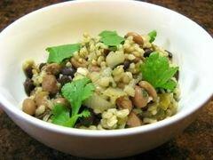 «Фасоль с рисом» - приготовления блюда - шаг 9