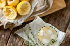 «Лимонно - текиловый коктейль» - приготовления блюда - шаг 1