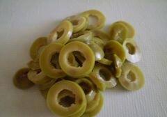 «Омлет на сливках с зелеными оливками» - приготовления блюда - шаг 2