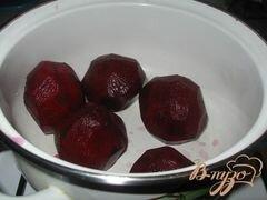 «Холодный свекольник» - приготовления блюда - шаг 1