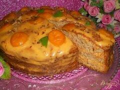 «Бисквитный торт «Шифон»» - приготовления блюда - шаг 9