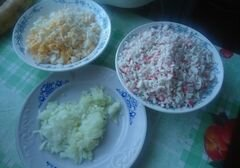 """«Салат """"Студентческий""""» - приготовления блюда - шаг 2"""