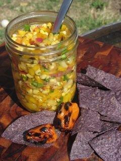 «Сальса с овощами и фруктами, обжаренными на гриле» - приготовления блюда - шаг 6