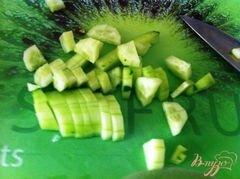 «Овощной салат с сыром Джугос» - приготовления блюда - шаг 3