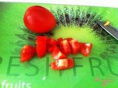 «Овощной салат с сыром Джугос» - приготовления блюда - шаг 4