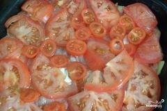 «Свинина по-французски с помидорами и картошкой» - приготовления блюда - шаг 6