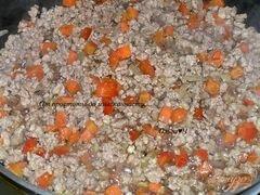 «Мясное рагу в томатном соусе» - приготовления блюда - шаг 2