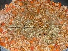 «Мясное рагу в томатном соусе» - приготовления блюда - шаг 3