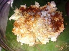 «Закуска из творога с овощами.» - приготовления блюда - шаг 2