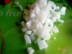 «Закуска из творога с овощами.» - приготовления блюда - шаг 3