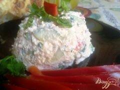«Закуска из творога с овощами.» - приготовления блюда - шаг 8