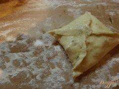 «Слойки с грушей и орехами» - приготовления блюда - шаг 3