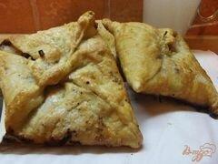 «Слойки с грушей и орехами» - приготовления блюда - шаг 4