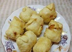 «Сырные конвертики во фритюре» - приготовления блюда - шаг 7