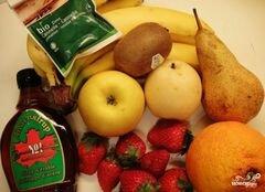 «Сладкий салат из фруктов» - приготовления блюда - шаг 1
