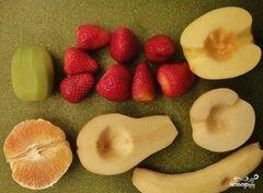 «Сладкий салат из фруктов» - приготовления блюда - шаг 2
