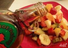 «Сладкий салат из фруктов» - приготовления блюда - шаг 4
