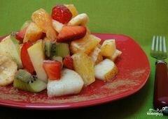 «Сладкий салат из фруктов» - приготовления блюда - шаг 5