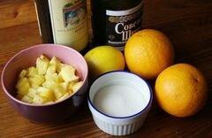 «Фруктовый пунш» - приготовления блюда - шаг 1