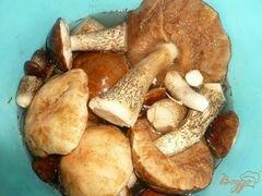 «Суп-пюре из грибов и картофеля» - приготовления блюда - шаг 1