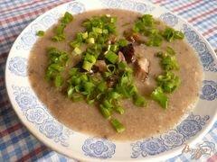 «Суп-пюре из грибов и картофеля» - приготовления блюда - шаг 7