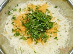«Легкий овощной салат» - приготовления блюда - шаг 2