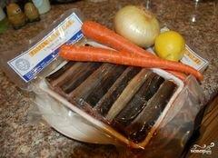 «Угорь отварной в маринаде» - приготовления блюда - шаг 1