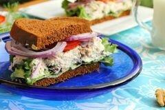 «Сэндвич с салатом из тунца» - приготовления блюда - шаг 3