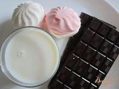 «Горячий шоколад с зефиром» - приготовления блюда - шаг 1